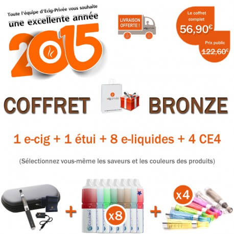 COFFRET BRONZE POUR NOËL !