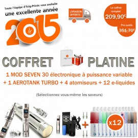 IDÉE CADEAU - COFFRET PLATINE !