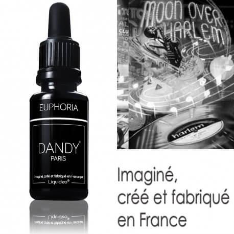 """E-liquide DANDY saveur """"Euphoria"""" de Liquideo - 15ml pour e-cigarette"""