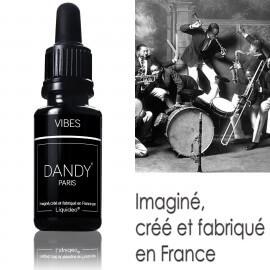 """E-liquide DANDY saveur """"Vibes"""" de Liquideo - 15ml pour e-cigarette"""