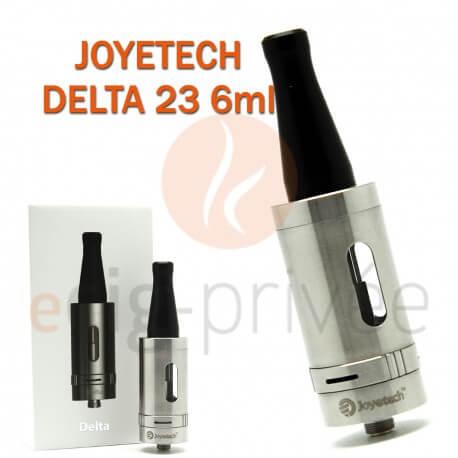 Clearomizer JOYETECH DELTA 23 couleur argent de 6ml pour e-cigarette