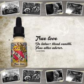 "E-liquide XBUD saveur ""TRUE LOVE"" de Liquideo - 15ml pour e-cigarette"