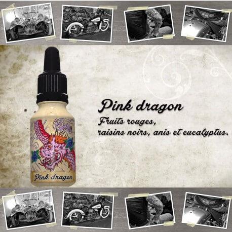 """E-liquide XBUD saveur """"PINK DRAGON"""" de Liquideo - 15ml pour e-cigarette"""