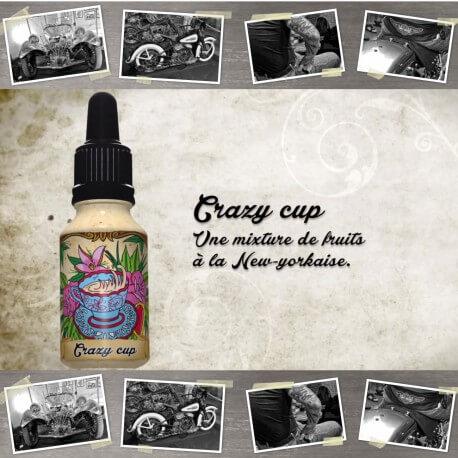 """E-liquide XBUD saveur """"CRAZY CUP"""" de Liquideo - 15ml pour e-cigarette"""