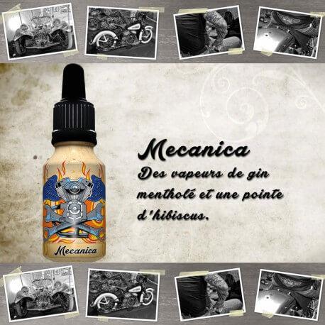 """E-liquide XBUD saveur """"MECANICA"""" de Liquideo - 15ml pour e-cigarette"""
