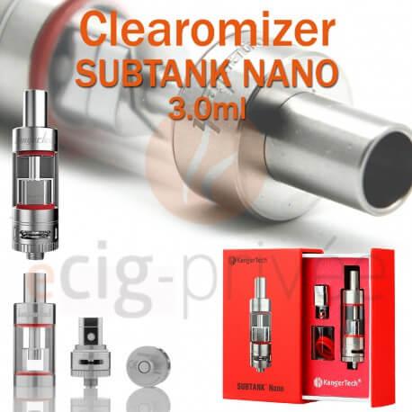 Clearomizer SUBTANK NANO de KANGERTECH pour e-cigarette