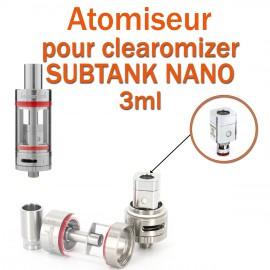 Pack de 5 résistances OCC pour clearomizer SUBTANK NANO 3ml