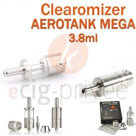 Clearomizer AEROTANK MEGA couleur argent de 3.8ml pour e-cigarette