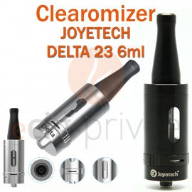 Clearomizer JOYETECH DELTA 23 de 6ml pour e-cigarette