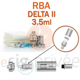 Kit RBA pour clearomizer DELTA 2 3.5ml