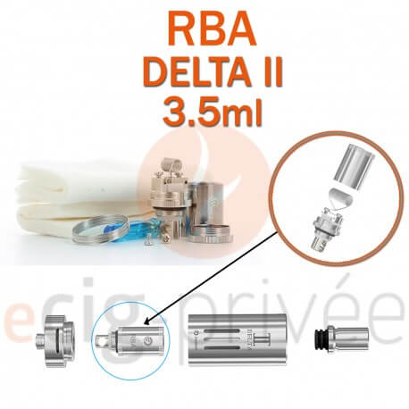 Kit RBA pour clearomizer DETA 2 3.5ml