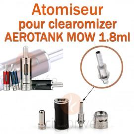 Pack de 5 résistances pour clearomizer AEROTANK EMOW 1.8ml
