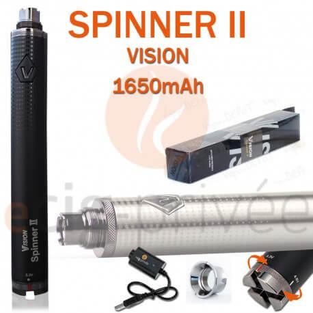 Batterie 1650mAh VISION SPINNER 2 pour e-cig