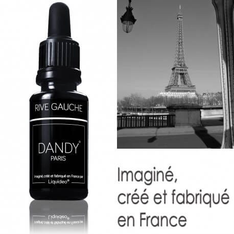 "E-liquide DANDY saveur ""Rive Gauche"" de Liquideo - 15ml"