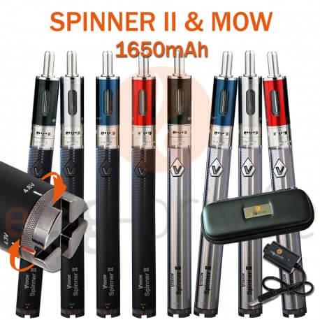 Kit complet SPINNER 2 1650mAh et MOW 1.8ml