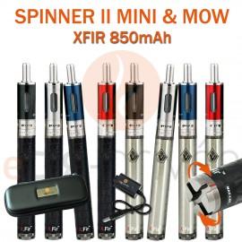 Kit complet SPINNER 2 MINI XFIR 850mAh et MOW 1.8ml