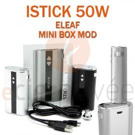 MINI BOX - MINI ISTICK 50W V2 MOD de ELEAF pour e-cigarette