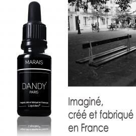 """E-liquide DANDY saveur """"Marais"""" de Liquideo - 15ml pour e-cigarette"""