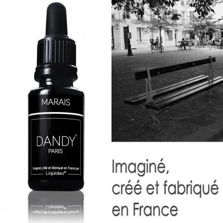 """E-liquide DANDY saveur """"Marais"""" de Liquideo - 15ml"""