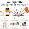 Pack Ecig-Coach 900mAh Bluetooth + accessoires GRATUITS