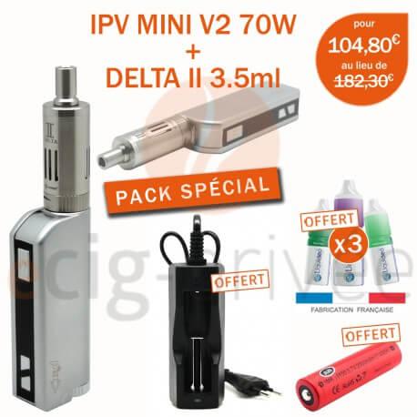 PACK MINI BOX - IPV MINI V2 70W ET DELTA 2