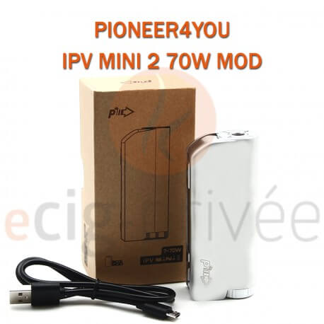 MINI BOX - IPV MINI 2 70W MOD de PIONEER4YOU pour e-cigarette