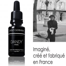 "E-liquide DANDY saveur ""Saint-Germain"" de Liquideo - 15ml"