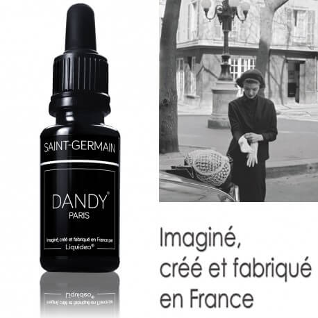 "E-liquide DANDY saveur ""Saint-Germain"" de Liquideo - 15ml"