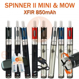 PACK PROMO - SPINNER 2 MINI XFIR 850mAh et MOW 1.8ml