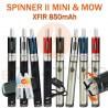 PACK PROMO - SPINNER 2 MINI XFIR 850mAh et MOW 1.8ml