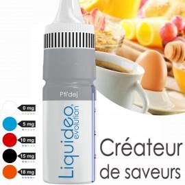 """""""PTI'DEJ"""" E-liquide saveur GOURMANDE de Liquideo-10ml pour e-cigarette"""