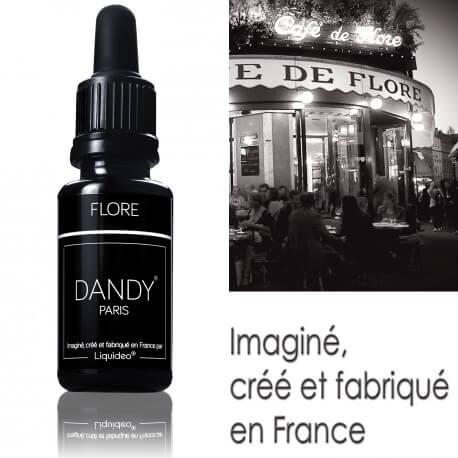 """E-liquide DANDY saveur """"Flore"""" de Liquideo - 15ml"""