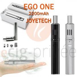 Kit complet EGO ONE 2200mAh de JOYETECH