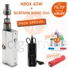 PACK MINI BOX - KBOX ET SUBTANK NANO