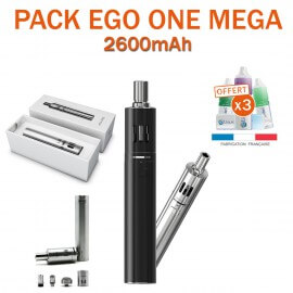 PACK PROMO - KIT EGO ONE MEGA 2600mAh de JOYETECH
