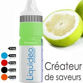 """POMELOOS"" E-liquide saveur FRUITÉE de Liquideo-10ml pour e-cigarette"