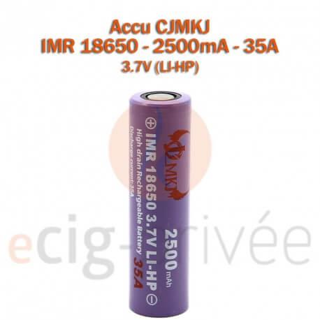 Accus AW 18650 - 2000mAh pour MODS