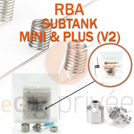 Kit RBA pour clearomizer SUBTANK MINI 4.5ml