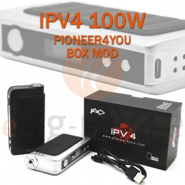 BOX - IPV V4 - 100W MOD de PIONEER4YOU pour e-cigarette