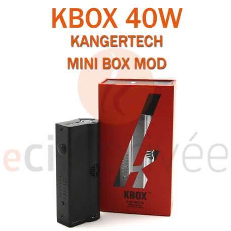 MINI BOX - KBOX MOD de KANGERTECH pour e-cigarette