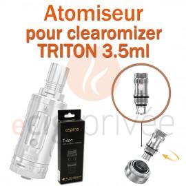 Pack de 5 résistances pour clearomizer TRITON