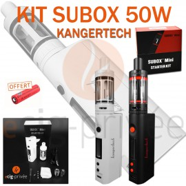 KIT SUBOX MINI 50W ET SUBTANK MINI V2