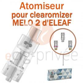 Pack de 5 résistances pour clearomizer MELO 2 de 4,5ML