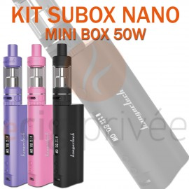 KIT SUBOX MINI 50W ET NANO SUBTANK-S