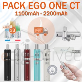 PACK PROMO - KIT EGO ONE CT 1100mAh et 2200mAh