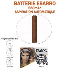 BATTERIE CIGARE EBARRO 650mAh POUR E-CIG A CAPSULES JETABLES