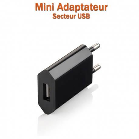 Adaptateur (flat) secteur USB 220V