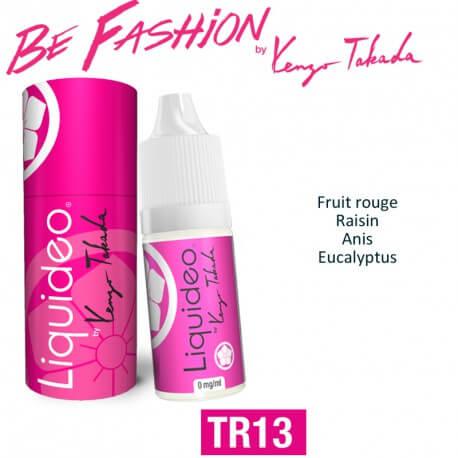 """E-liquide BY KENZO saveur """"TR13"""" de Liquideo-10ml pour e-cigarette"""