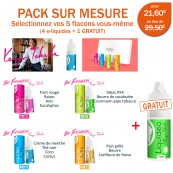Pack PROMO 5 e-liquides dont 1 gratuit BY KENZO de Liquideo-10ml pour e-cigarette