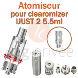 Pack de 5 résistances EC DUAL COILS pour clearomizer IJUST 2 5.5ml
